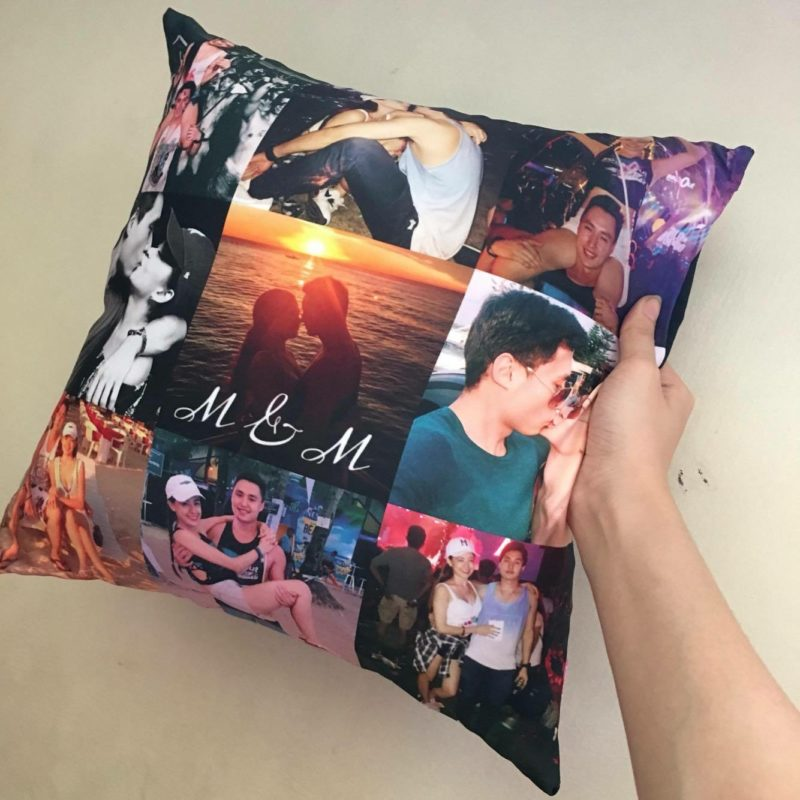 Couple Pillow Art