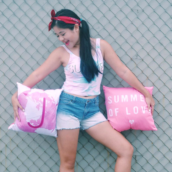 Jana Legaspi Blogger Pillow