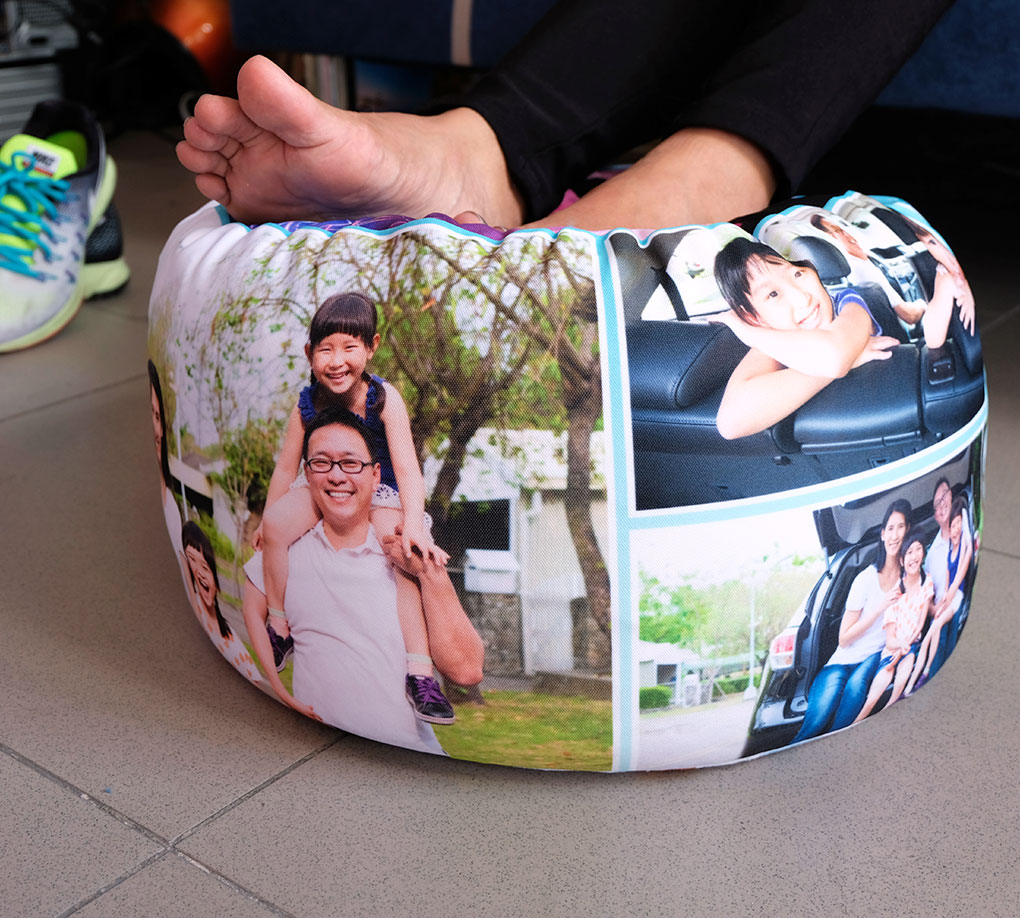 Customized Foot Pillow Styrobead Foot Cushion By Pillow