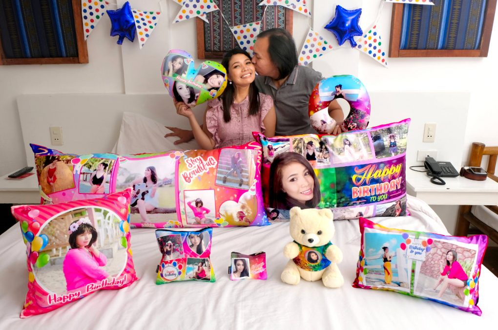 Personalized Birthday Pillows